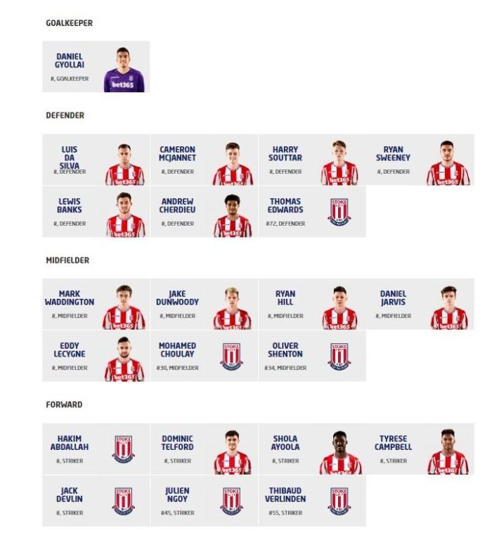 U23 squad